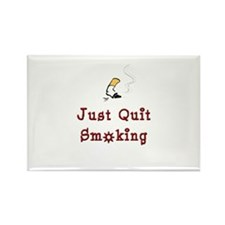Just Quit Smoking Rectangle Magnet