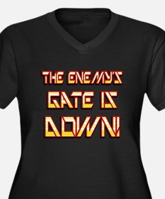 The Enemys Gate is Down 4 Plus Size T-Shirt