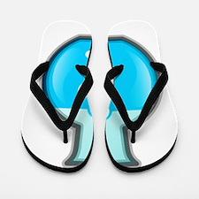 Chemistry Beaker Flip Flops