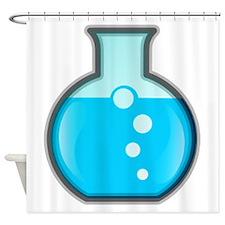 Chemistry Beaker Shower Curtain
