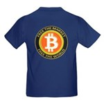 Bitcoin-8 Kids Dark T-Shirt
