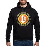 Bitcoin-8 Hoodie (dark)