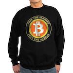 Bitcoin-8 Sweatshirt (dark)
