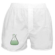 Chemistry Beaker Boxer Shorts