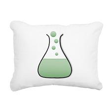 Chemistry Beaker Rectangular Canvas Pillow