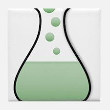 Chemistry Beaker Tile Coaster
