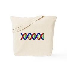 DNA Strand Tote Bag