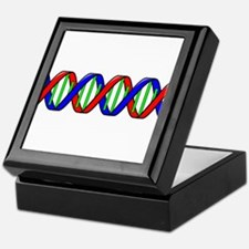 DNA Strand Keepsake Box