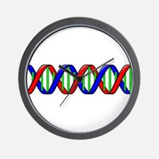 DNA Strand Wall Clock