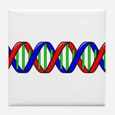 DNA Strand Tile Coaster