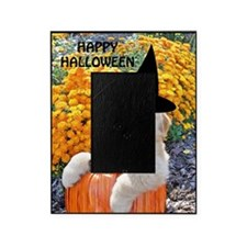 Halloween Decor Poster, Funny Puppy  Picture Frame