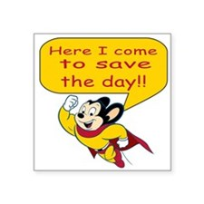 Mighty Mouse Save the Day Sticker