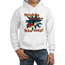 Mighty Mouse Is On His Way Hoodie