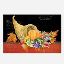 Harvest Thanksgiving Fall Postcards (Package of 8)