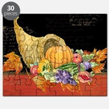 Harvest Thanksgiving Fall Cornucopia Autumn Puzzle