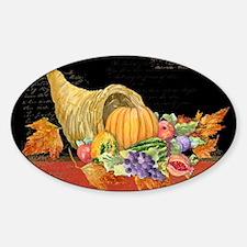 Harvest Thanksgiving Fall Cornucopi Decal