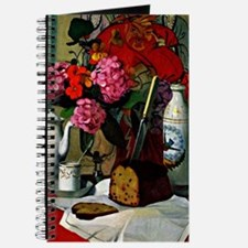 Felix Vallotton - Still Life in Chinese Pa Journal