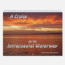 Intracoastal Waterway Cruise Wall Calendar