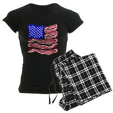 American Bacon Flag Pajamas