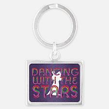 dancingwstars1 Landscape Keychain