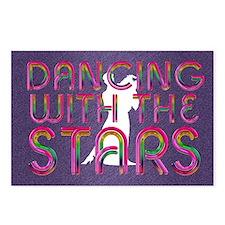 dancingwstars1 Postcards (Package of 8)