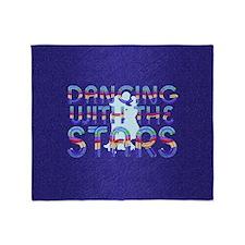 dancingwstarsbsq Throw Blanket