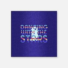 """dancingwstarsbsq Square Sticker 3"""" x 3"""""""