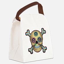 dod-gold-DKT Canvas Lunch Bag