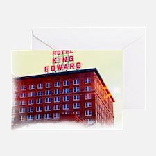 King Edward Hotel Greeting Card