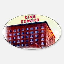 King Edward Hotel Decal