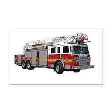 firetruck2 Rectangle Car Magnet