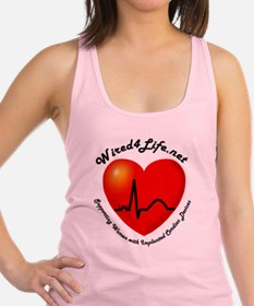 Wired4Life-3a Racerback Tank Top