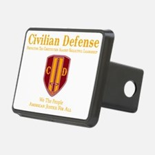 Civilian Defense Dark Hitch Cover