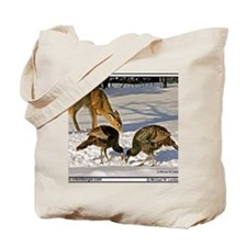 zz-Deer&Turkeys-Christmas -mousepad Tote Bag