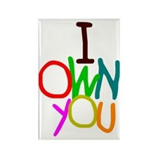 iownyou Rectangle Magnet