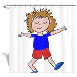max.png Shower Curtain