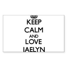 Keep Calm and Love Jaelyn Decal