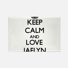 Keep Calm and Love Jaelyn Magnets
