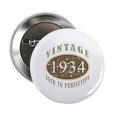"1934 Vintage Birthday 2.25"" Button (100 pack)"