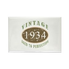 1934 Vintage Birthday Rectangle Magnet
