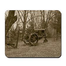 Antique Farm Tractor Mousepad