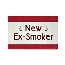 New Ex-Smoker Rectangle Magnet (10 pack)