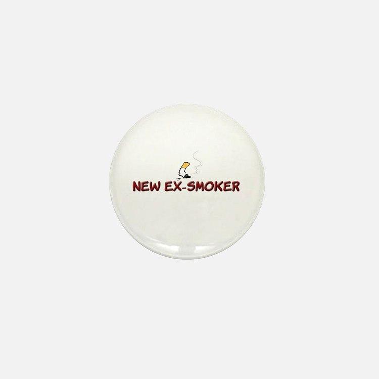 New Ex-Smoker Mini Button