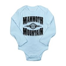 Mammoth Mtn Old Style Black Body Suit