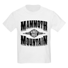 Mammoth Mtn Old Style Black T-Shirt