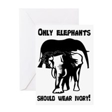 Only Elephants! Greeting Card