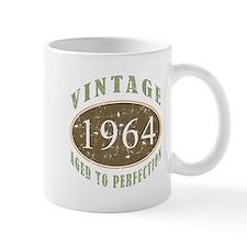 1964 Vintage Birthday Small Mugs