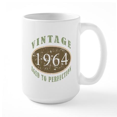 1964 Vintage Birthday Large Mug