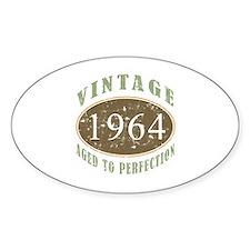 1964 Vintage Birthday Decal