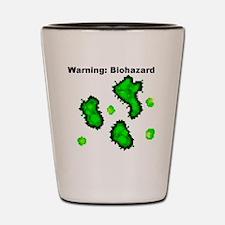 BioWarning Shot Glass